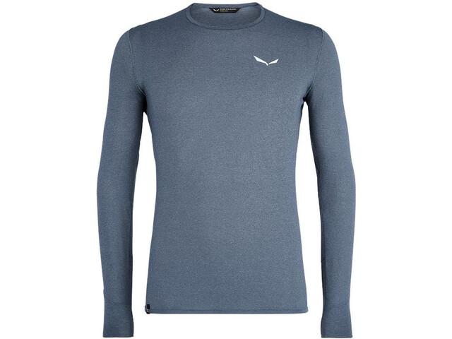 SALEWA Pedroc Hybrid 2 Dry Longsleeve T-Shirt Heren, grijs